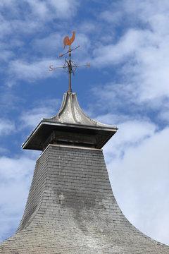distillery roof