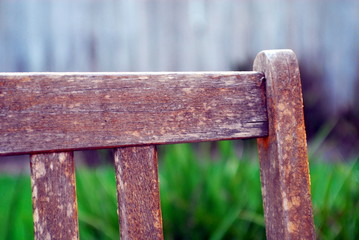 edge of bench