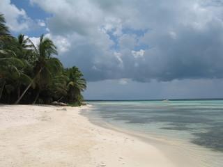 Playa de Dominicana virgen