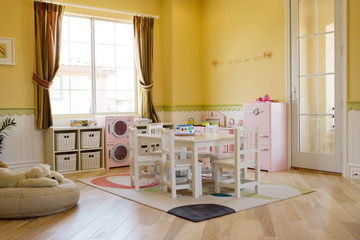 Girl's playroom