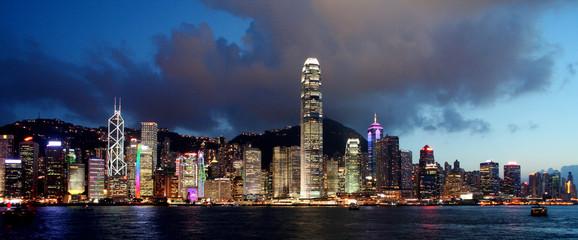 Wall Murals China Skyline Hong Kong