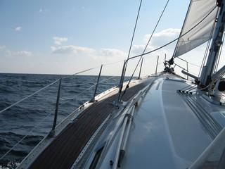 Segeln im Atlantik 3