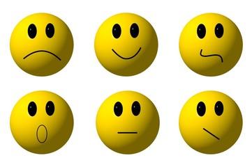 Smiley Gesichter