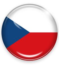 tschechien czecia flagge button