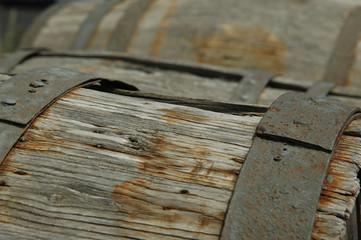 Rusty Wine Barrels
