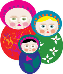 Russian dolls / babushkas