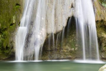 cascade de l'alloix Wall mural