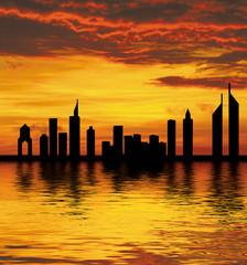 sheikh zayed road, dubai, united arab emirates