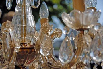 lustre en cristal