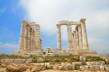Poseidon Temple - front
