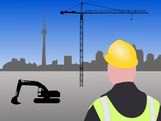 Toronto Construction site