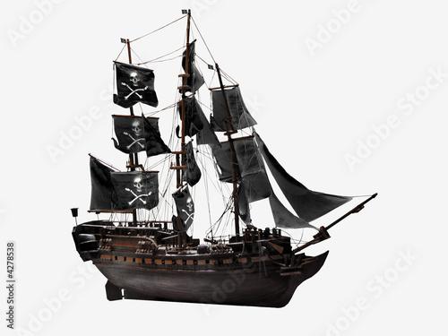 bateau pirate photo libre de droits sur la banque d 39 images image 4278538. Black Bedroom Furniture Sets. Home Design Ideas