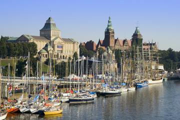 City of Szczecin in Poland