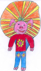 pig ice-cream