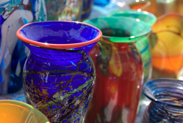 Colorful Vases