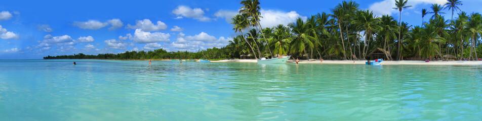 Foto auf AluDibond Karibik La Palmilla