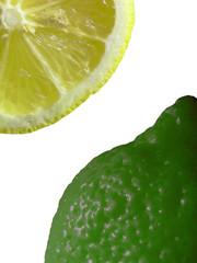 Citron et citron vert