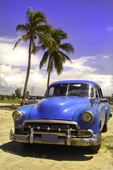 Garden Poster Cars from Cuba Oldtimer