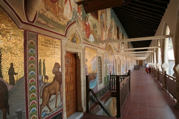 Kykkou abbey in Cyprus