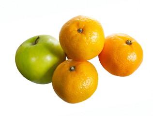 apple and three oranges