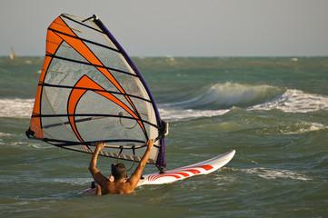 Windsurf water start