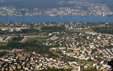 lac de zürich...et agglomération