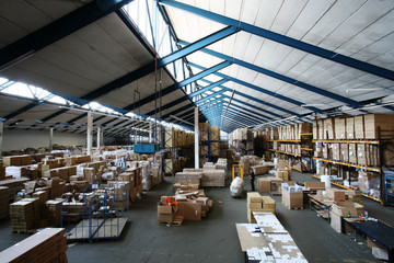 warehouse, lagerhalle, lager