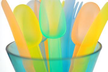 Colorful Plastic Utensils