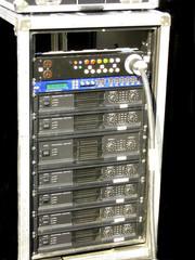Professional amplifier.