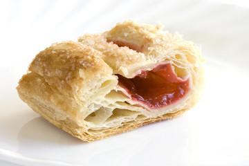 piece of cherry turnover