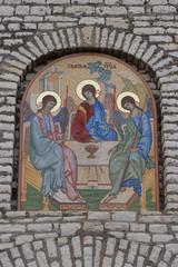 Church mosaic details