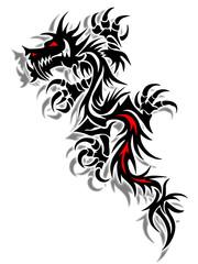 Drachen-Tribal