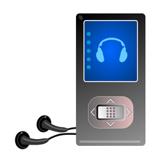 Mp3 player black