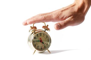 Alarm clock amd palm