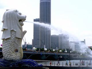 Foto op Canvas Singapore Singapore Merloin