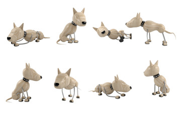 poses of dogs
