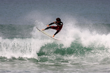 surf sur la vague