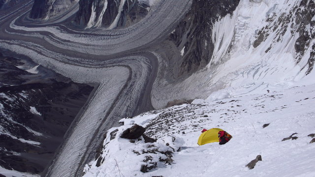 Camp III on Cesen route on K2
