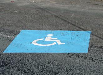 place d'handicapé