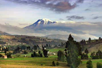 Impressive Volcano peak