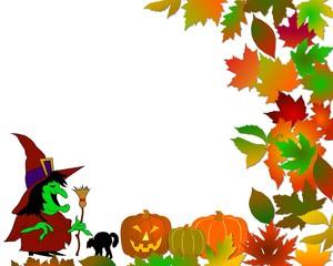 halloween hintergrund hexe