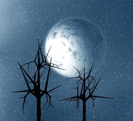 Moon abstract