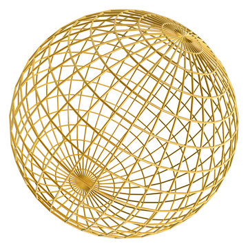 golden globe frame ball