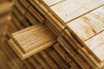 Obraz wood parquet piece - fototapety do salonu