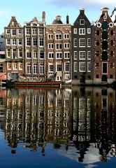 reflets d'immeubles