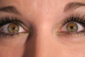 upclose eyes