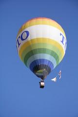 Iridescent balloon