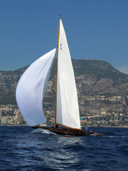 Cotton Blossom II classic yachting