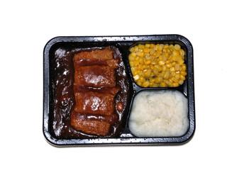 Boneless Pork Rib tv dinner