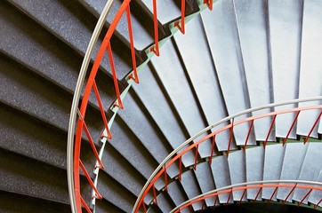 Canvas Prints Stairs spiral stairs